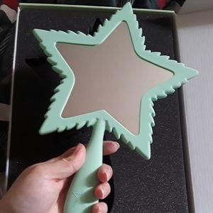 Jeffree Star 420 Edition Leaf Mirror Mint Green